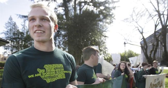 Judge won't block part of Seattle's minimum wage law