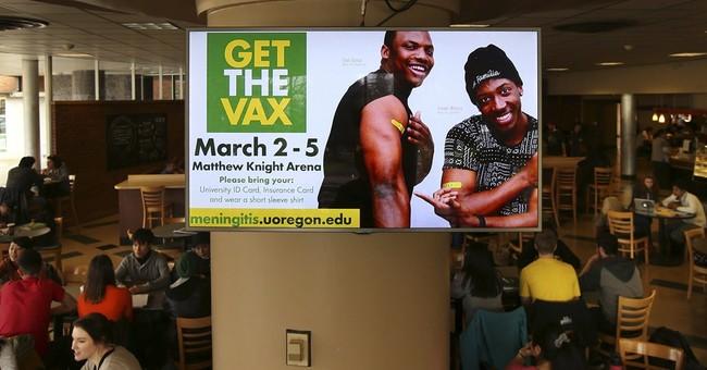 Officials urge meningitis shots at University of Oregon