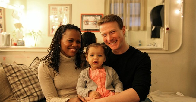 Diapers and greasepaint: A Broadway couple raise a baby