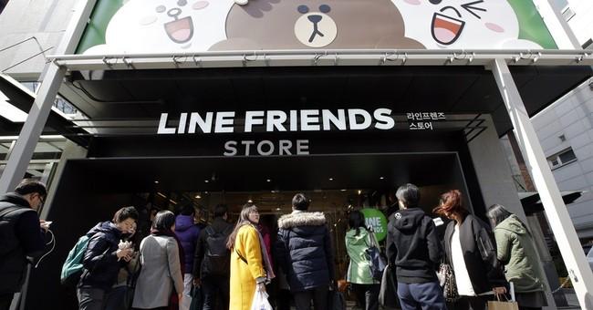 Big in Asia, Line app hopes cute factor will win worldwide