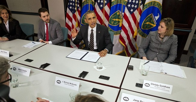 Obama drives ahead on climate with government emissions cuts