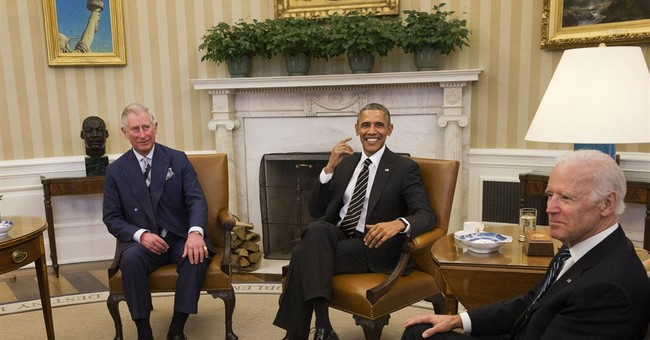 Obama welcomes Prince Charles, Camilla to Oval Office