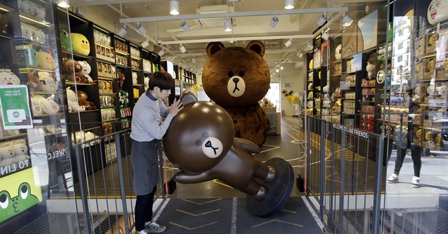 Big in Asia, Line app hopes cute factor will win worldwide
