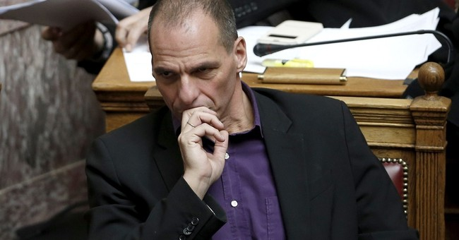Greek finance minister angered over missing copy of bailout