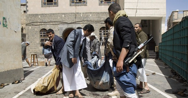 Bombings in Yemeni mosques kill more than 130