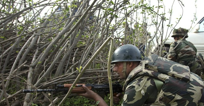 Indian police say shootout at Kashmir police station kills 6