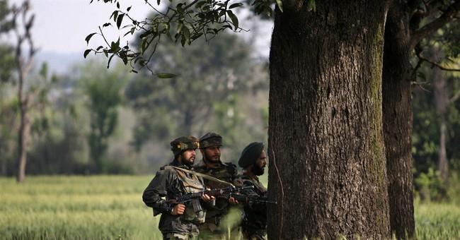 Indian police say shootout at Kashmir police station kills 6