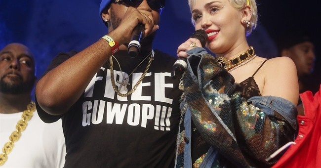 Miley Cyrus surprises crowd at SXSW event starring rappers