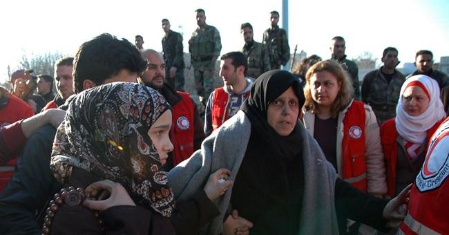 APNewsBreak: Report says 640,200 Syrians in besieged areas