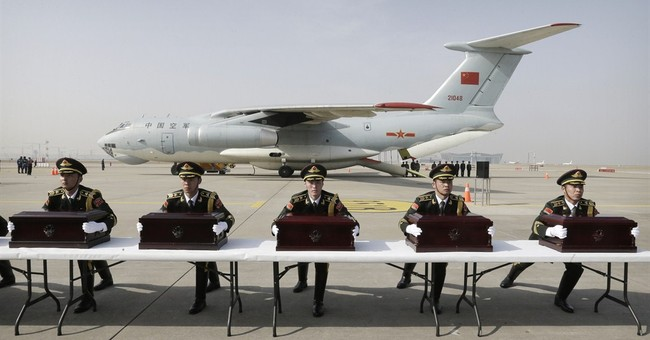 Image of Asia: China soldiers killed in Korean War returned