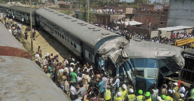 Passenger train derails in north India, killing 31 people