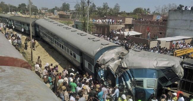Passenger train derails in north India, killing 31 people