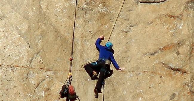 Pair attempts world's hardest climb up Yosemite's El Capitan