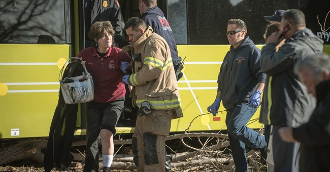 City bus crashes into Albuquerque home; up to 8 injured