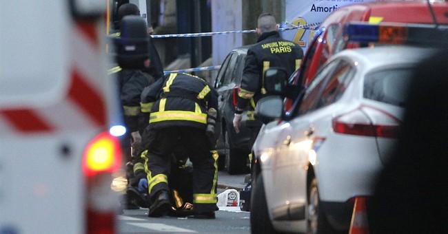 Massive manhunt for 2 suspects in Paris attack