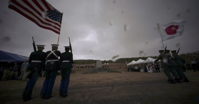 US veterans return to Iwo Jima for 70th anniversary