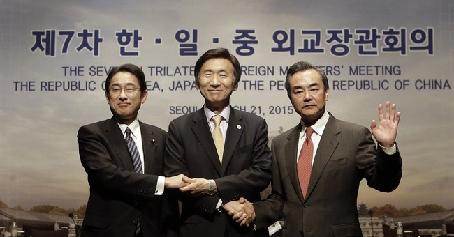 S. Korea, China, Japan revive talks after history disputes