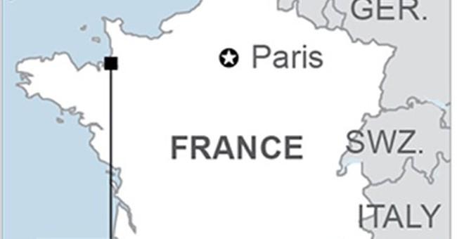 Dazzling supertide envelops France's Mont Saint-Michel