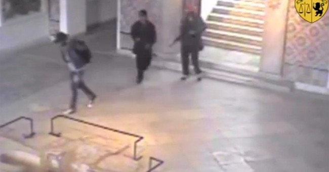 Tunisian president says hunt on for 3rd man in museum attack