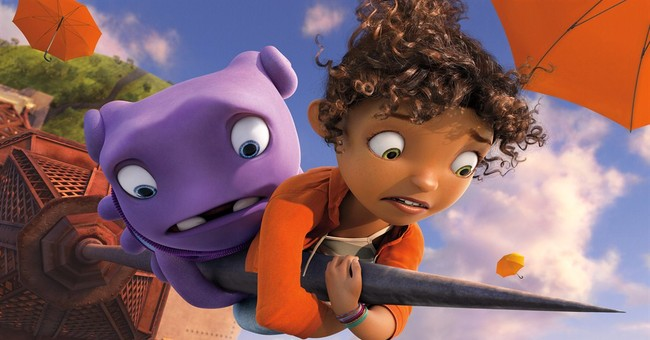 Review: Animated alien adventure 'Home' lands with a thud
