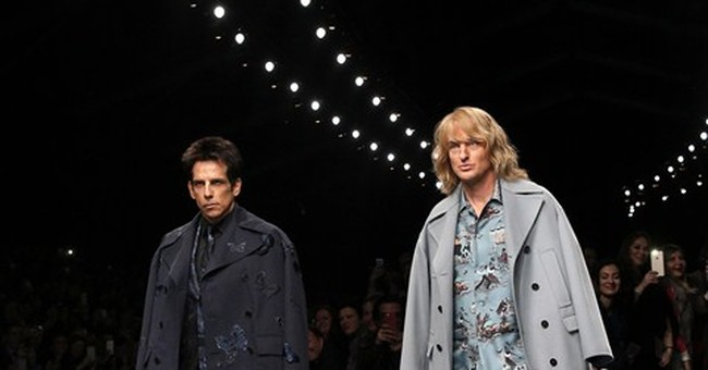 Stiller happy nobody tripped during recent 'Zoolander' stunt