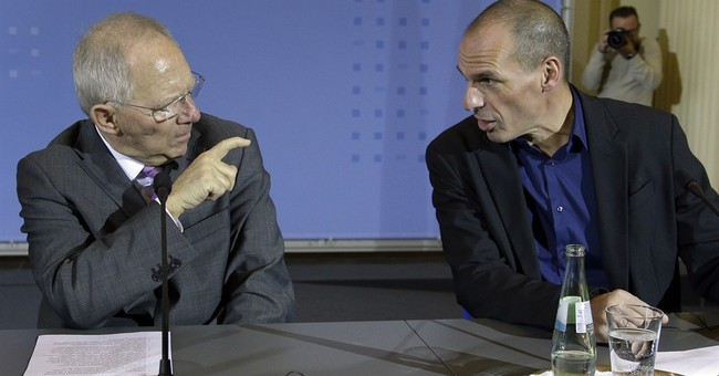 A glance at issues that divide Germany and Greece