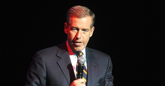 Brian Williams attends gala to keep alma mater open