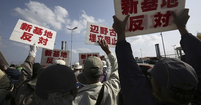 Okinawa orders halt to work related to US base relocation