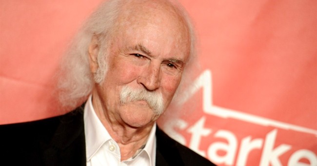 Call: David Crosby repeatedly asks for ambulance after hit