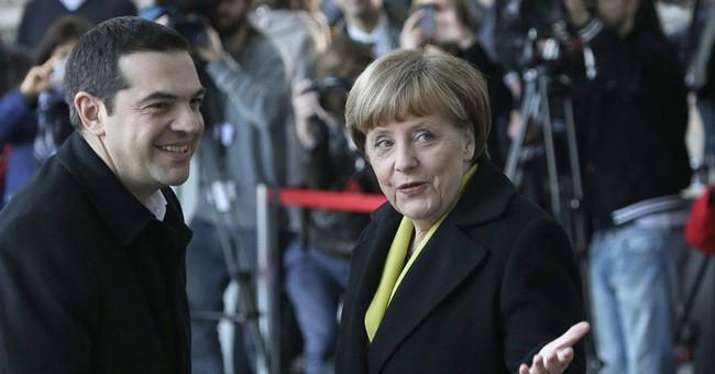 Greek, German leaders seek to reboot relationship