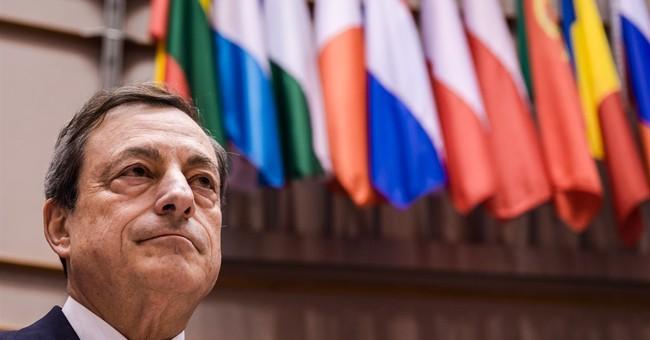 ECB head: Restore dialogue between Greece, creditors