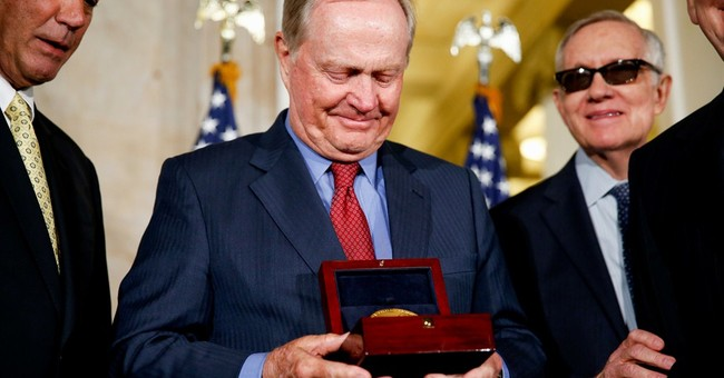 Emotional Nicklaus awarded congressional gold medal