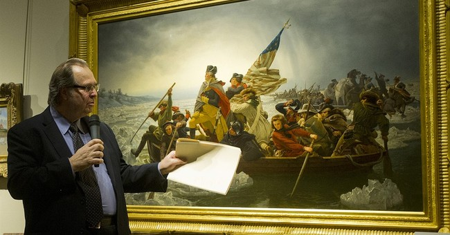 Minnesota museum gets Washington crossing Delaware painting