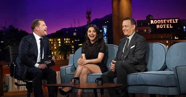 James Corden plays nice in bow as 'Late Late Show' host