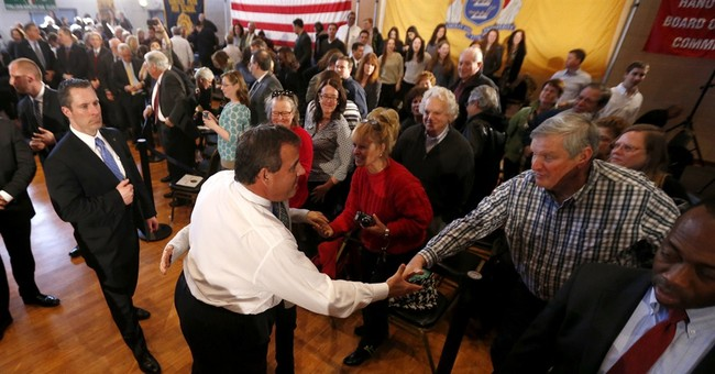 New Jersey's Christie: Liberty comes from God not government