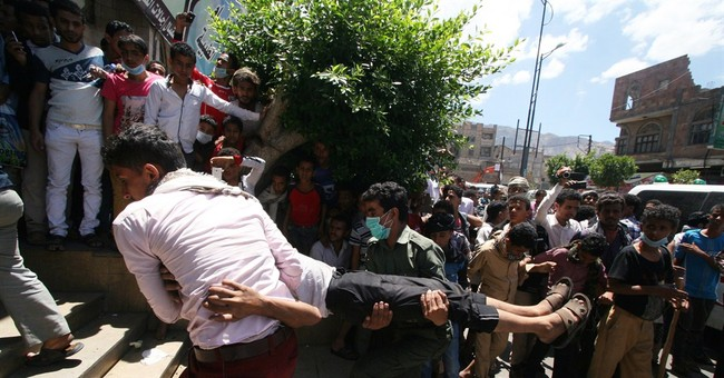 Shiite rebels fire on protesters in south Yemen, killing 6