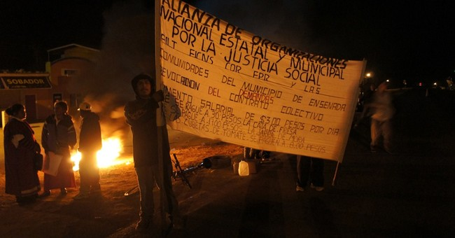 Mexico's Baja farmworkers strike for better conditions
