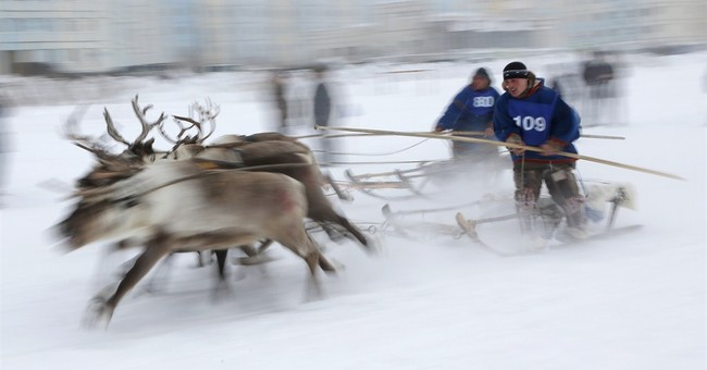 AP PHOTOS: Russia's Nenets celebrate Reindeer Herders' Day