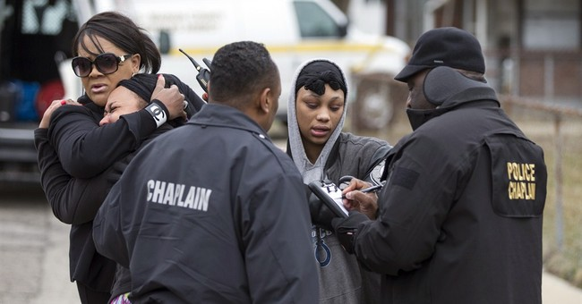Police: Mother, son among 4 slaying Indianapolis victims