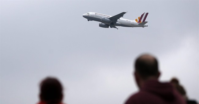 Minute by minute, the demise of doomed German flight