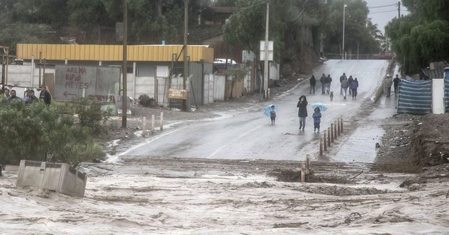 Chile declares state of emergency in flood-hit desert region