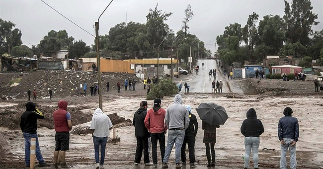Chile declares state of emergency in flood-hit desert region