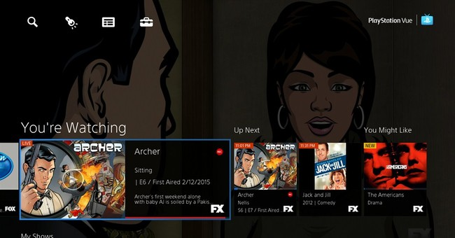 Details on PlayStation Vue, comparison with Sling TV