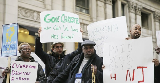 Sick leave advocates rally in Philly ahead of Christie talk