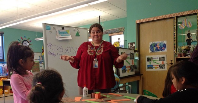 Hopes of preserving Cherokee language rest with children