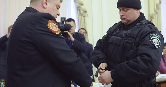 2 Ukraine officials arrested on live TV during gov't meeting