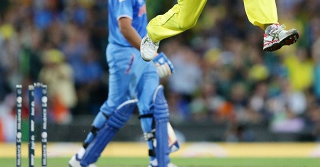 Image of Asia: Australia leaps into Cricket World Cup final