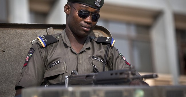 Nigeria's military pushes extremists before elections