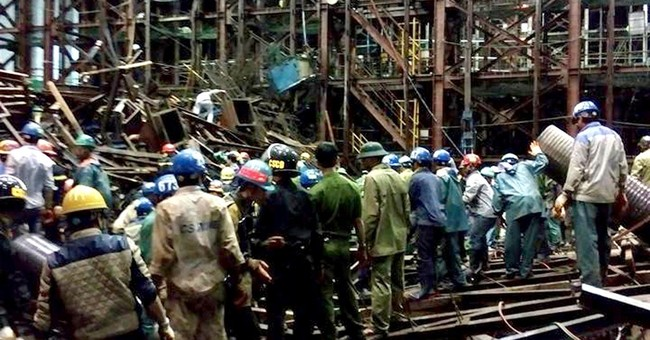 Vietnam orders quick probe after scaffolding fall kills 13