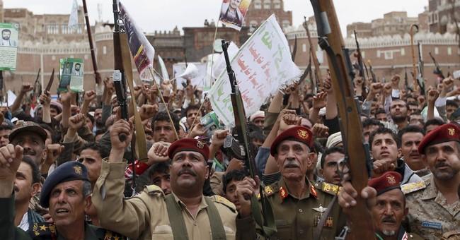 Warships move in key strait as airstrikes widen in Yemen
